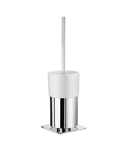 Smedbo Outline WC-Bürste mit Porzellan Glas, quadratisch; FK321P (Smedbo Wc-bürste Outline)