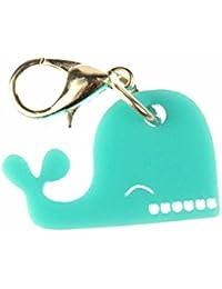 Ballena Colgante pulsera Miniblings con diseño de ballena Wilma plexiglás