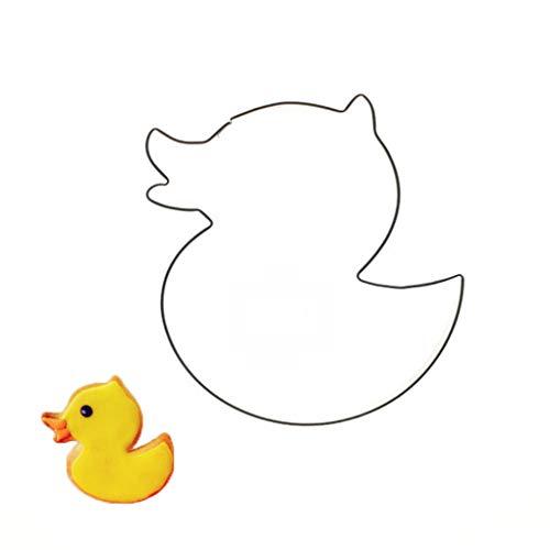 Provide The Best Nette kleine Ente-Form-Biskuit-Form Edelstahl Cutter-Kuchen-Kuchen-Backen-Werkzeug (Ente Kuchen-form)