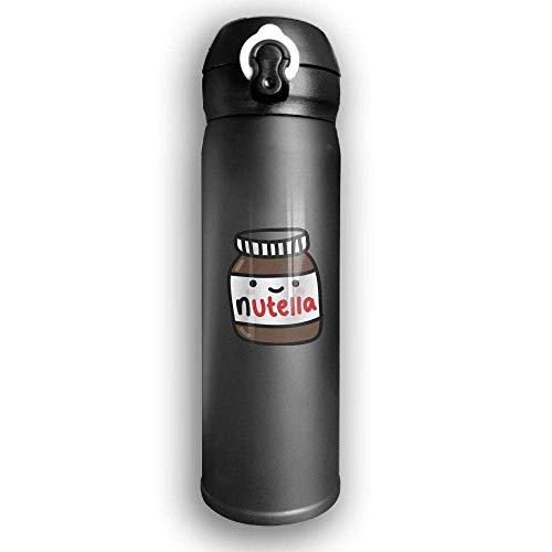 Bestqe Vakuumisolierte Trinkflasche,Wasserflasche,Thermosflasche, Ruby Fondos Tumblr Nutella Stainless Steel Mug 17 OZ Double Walled Vacuum Insulated Water Bottles 17 Oz Mug