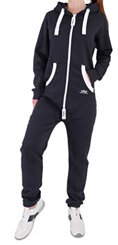 LH4 Finchgirl Damen Jumpsuit Jogging Anzug Trainingsanzug