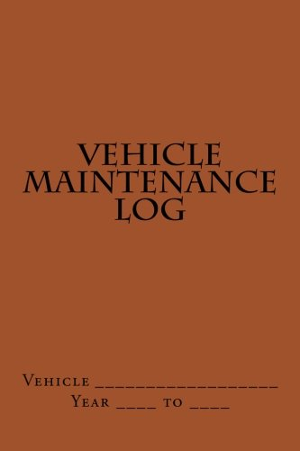 vehicle-maintenance-log-brown-cover
