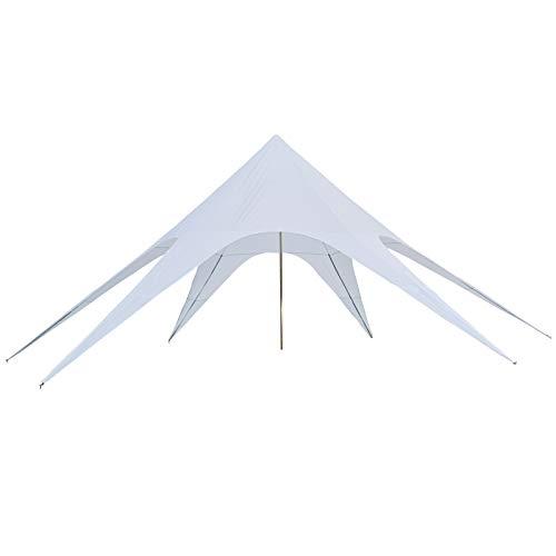 Outsunny Tente de Jardin XXL en étoile bâche...