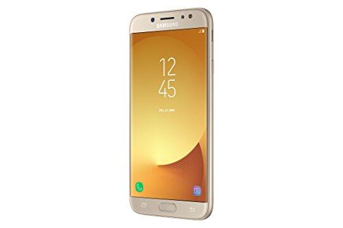 Samsung Galaxy J7 (2017) SM J730F SIM doble 4G 16GB Oro   Smartphone (14 cm (5.5