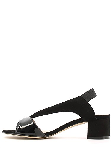 GRACE SHOES 527 Sandalo tacco Donna Nero
