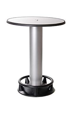 Stehtisch Quick-Table silber, Stehbiertisch, Bistrotisch