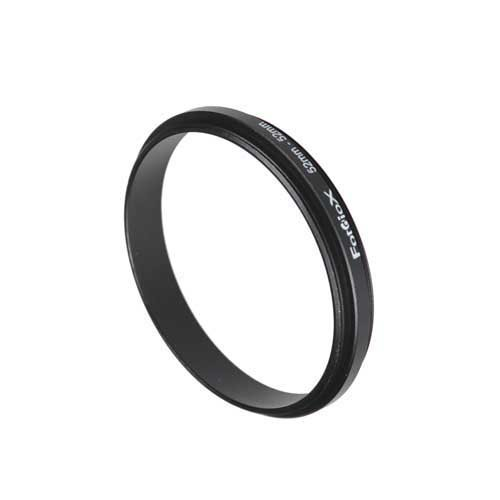 Fotodiox 52 mm – 52 mm, 52–52 mm Macro Close-up Reverse Ring, Anodized BLACK METAL RING, für Nikon, Canon, Sony, Olympus, Pentax, Panasonic, Samsung Kamera (Reverse Ring)