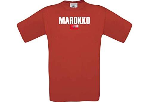 Shirtstown Camiseta Niño Fútbol Camiseta País Marruecos
