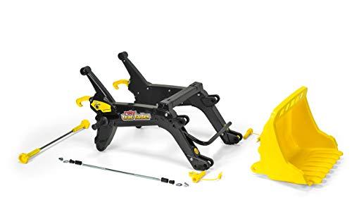 Rolly Toys Zubehör Rolly Toys 409341 - rollyTrac Lader (Alter 3-10 Jahre, Frontlader mit Kippfunktion) schwarz/gelb