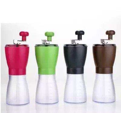 Günstige Waschmaschine manuell Hand Grinder Schleifen Kaffee Bohnen Boden ist gefrästes Pfeffer Chi Maschine