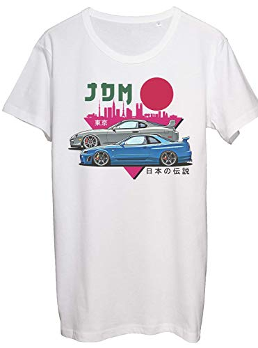 Benefitclothing Supra Skyline Nissan r34 GTR Men\'s Shirt Tuned Toyota Supra JDM Legends Turbo Petrol Monsters T-Shirt