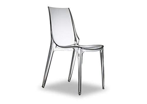 Scab Design Prezzi.Salesfever Vanity Sedia Design Trasparente