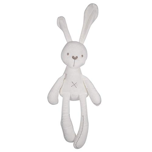 Conejo de peluche muñecas rellenas de dibujos animados lindo dormir conejito bebé...
