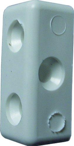Specialist SB1508 Blister Modesty Block mit Schrauben, 4 Stück, Weiß