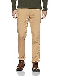 John Players Men's Slim Casual Trousers