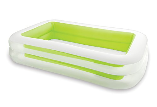 INTEX Swimming Pool Family Swim Center 262 x 175 cm, Grün