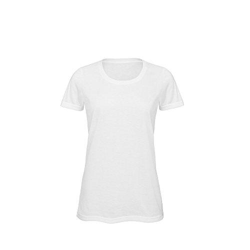 B&C Damen Favourite Sublimation T-Shirt Weiß