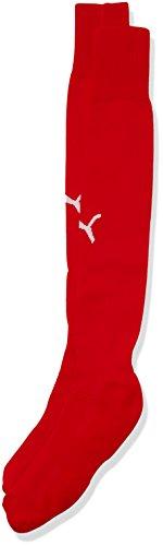 Puma Erwachsene Socken Team II Socks, red-white, 4, 702565 01