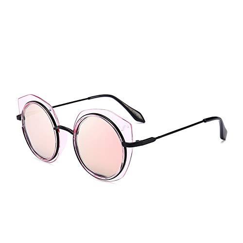 JY Neueste, katenförmige, rahmenlose Stift Sonnenbrille Trend Street PAT-Sonnenbrillen rote Scheiben