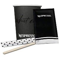 Cia&Co Pack Nespresso Lungo / Largo / con Leche, 120 Tasses Nespresso en carton 240 ml + 100 Enveloppes de sucre…