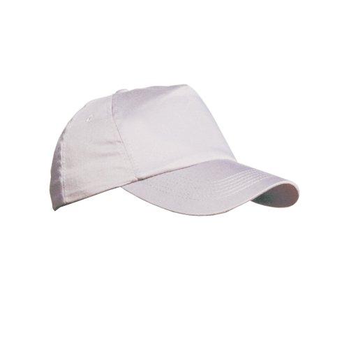 Result Casquette unie 100% coton - Adulte unisexe (Taille unique) (Blanc)