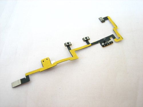 iPad 2 ~ On-Off Power Switch Volume Control Mute Button Key Flex Cable Ribbon ~ Mobile Phone Repair Part Replacement Off Volume Control