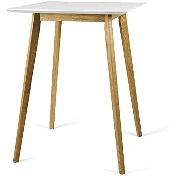 ts ideen bistro tisch stehtisch rund holz holzfarben wei dreibein bartisch mdf. Black Bedroom Furniture Sets. Home Design Ideas
