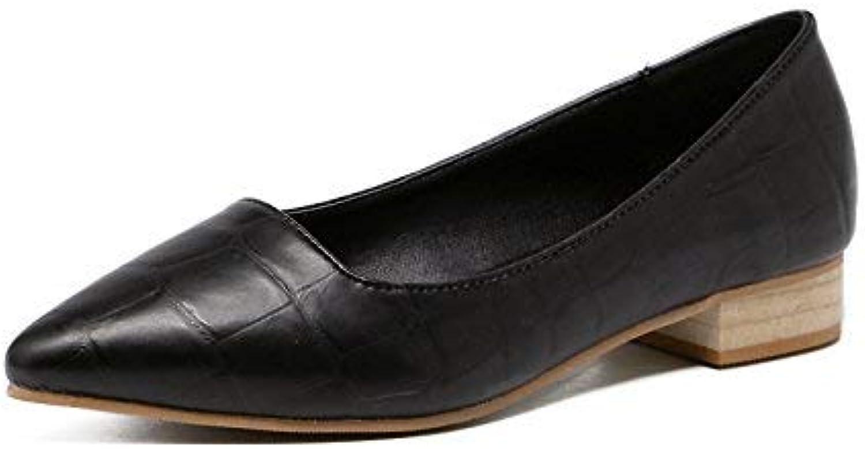 Willsego Escarpins Pointus Bas Bas Bas avec Une Seule Chaussure Femme Bouche Peu Profonde avec Les Chaussures Quatre Chaussures...B07KFG28RQParent 3b36ad