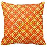 Bigdream Decorative Throw Pillowcase Personalized Cushion Case For Bed/Sofa Two Sides 18