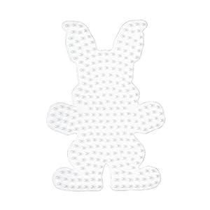 Hama Perlen 237  - Pared perforada conejito