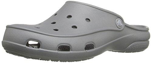 Crocs freesail clog w sandali a punta chiusa, donna, colore argento (silver 040), taglia 38/39