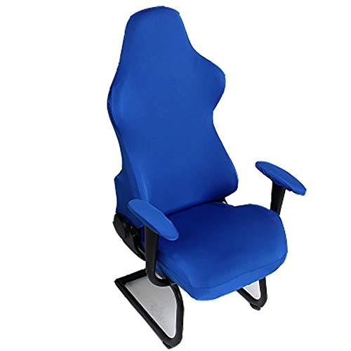 Hongma Bezug Husse für Gamingstuhl Spielstuhl Bürostuhl Grau Schwarz Weinrot Blau Kaffee Weiß MEHRWEG