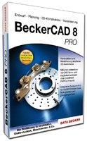 Beckercad 8 Pro, DVD-ROM Entwurf, Planung, 3D-Konstruktion, Visualisierung. Die Profilösung für Architektur, Elektrotechnik, Maschinenbau & Co. Für Windows 8, 7 (SP1), Vista (SP2), XP (SP3)