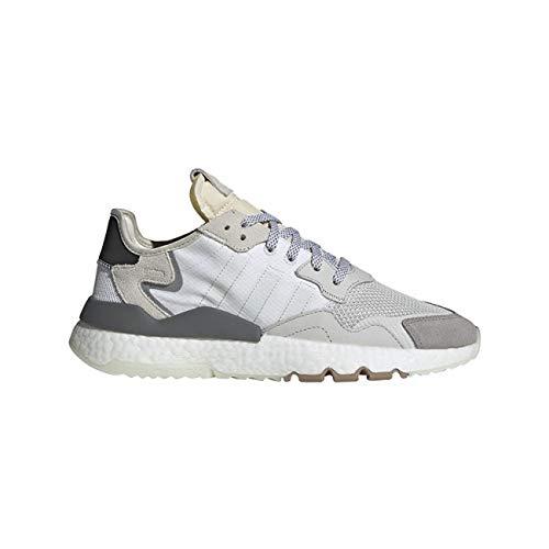 adidas Originals Herren Sneakers Nite Jogger Sneakers Ftwwht/Crywht/Cblack weiß 43 1/3