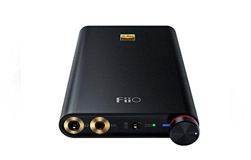 dsd player FiiO Q1 Mark II - Apple und PC Digital Analog Wandler und Kopfhörerverstärker - 32 Bit/384 kHz und DSD 256 nativ