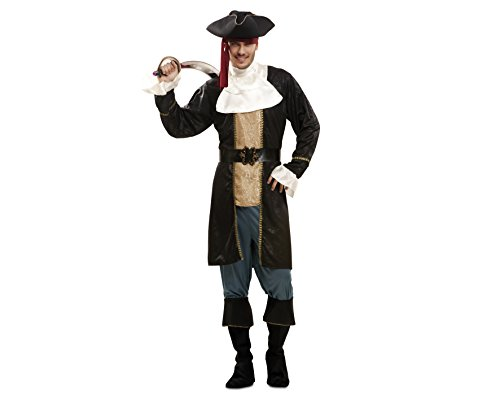 Imagen de my other me  disfraz de pirata fashion, para hombre, talla m l viving costumes mom02312