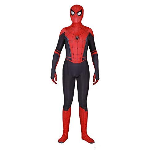 JUFENG Erwachsene Kinder Spider-Man 2019 Halloween Kostüm Overall 3D Print Spandex Lycra Spiderman - Cosplay Body,D-Adult/S (2019 Frauen Für Kostüme)