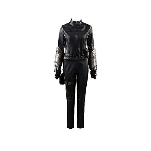 MingoTor Superheldin Suit Outfit Cosplay Kostüm Damen XS (Shield Agent Kostüm)