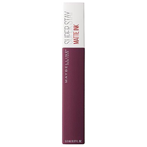 Maybelline Super Stay Matte Ink Lippenstift Nr. 40 Believer, farbintensiver Lippenstift für bis zu 16 Stunden Halt und angesagtem Matt-Finish, in matten Trendfarben, 5 ml (Maybelline Matte Lippenstift-set)