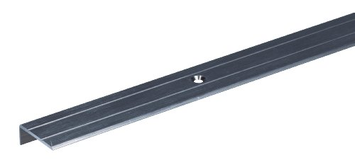 GAH-Alberts 476670 Treppenkanten-Schutzprofil - Aluminium, bronzefarbig eloxiert, 1000 x 24,5 x 10 mm
