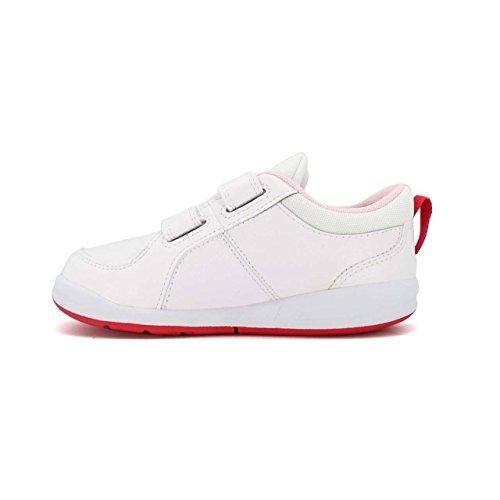 Nike Pico 4 (Tdv), Chaussures Bébé Marche Mixte Enfant Blanc Cassé (White/prism Pink/spark)