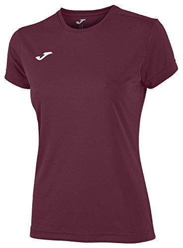 Joma 900248.650 - Camiseta para Mujer, Color Burdeos, Talla XS