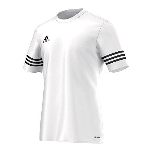 Adidas Calças Homens Futebol Entrada 14 Camisa Branca / Preta
