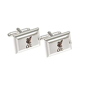 Liverpool F.C. Silver Plated Cufflinks Official Merchandise by Liverpool