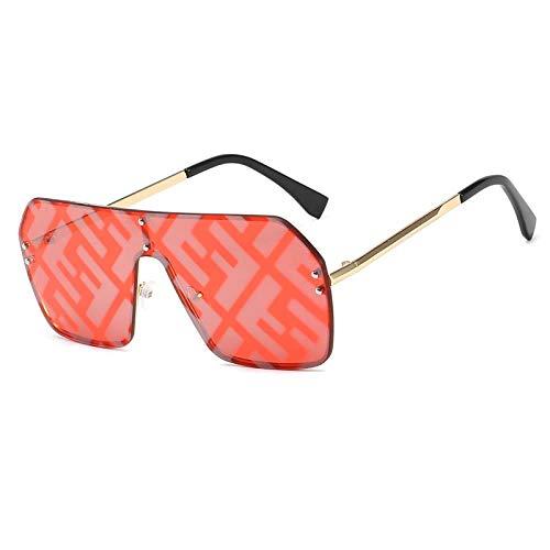 ZIYIZNL Sonnenbrillen Female Square Retro Men'S Sunglasses Female Luxury Brand Designer'S Sunglasses, C