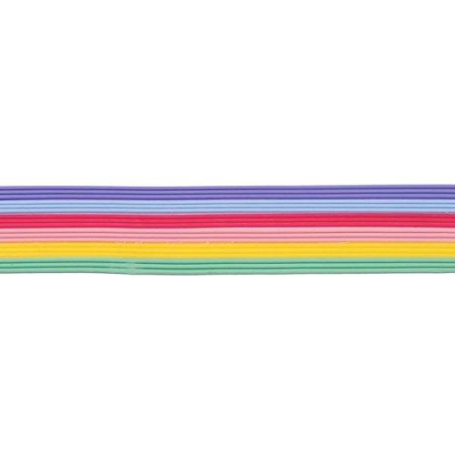 Wachsstreifen / Verzierwachs im Set 'Pastell' (30 Stück / 20 cm x 1 mm) TOP QUALITÄT