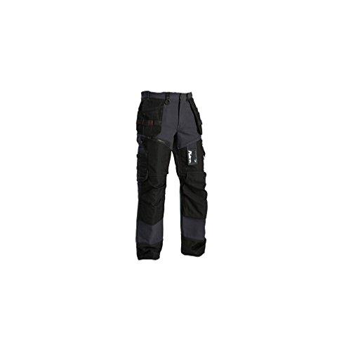 Blakläder pantalons de travail pantalons artisans X1500 1500, couleur:bleu acier;pointure:150