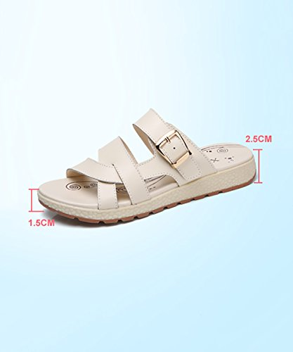 CHAOXIANG Pantofole Piatte Flip Flop Antiscivolo Sandali Da Surf Nuovo Calzature Da Spiaggia Estiva ( Colore : A , dimensioni : EU40/UK6.5/CN41 ) B