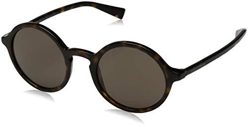 Dolce & Gabbana Herren Sonnenbrille DG4342, Braun (Havana), 49