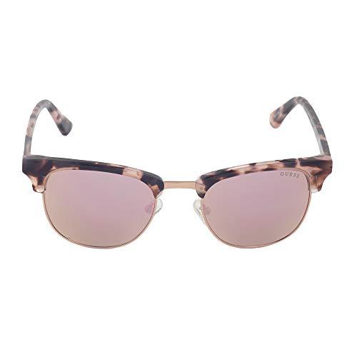Guess Damen GU7414-5155U Sonnenbrille, Braun (Marrón), 51